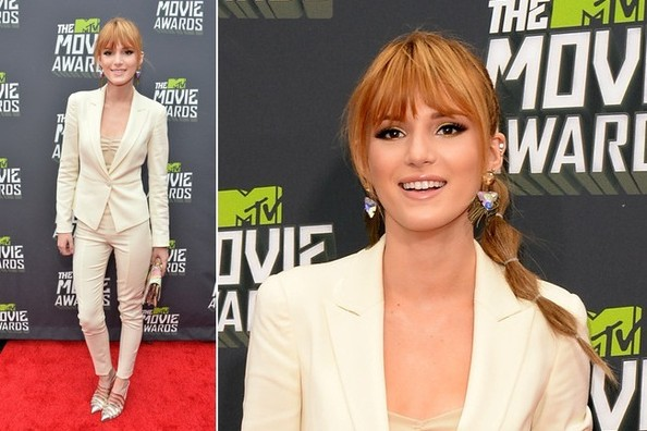 Bella Thorne growing up
