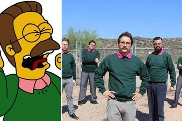 'The Simpsons's' Ned Flanders Inspired This 'Okilly Dokilly' Metal Band