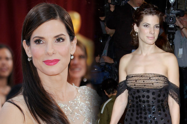 Fashion Flashback: Sandra Bullock Then & Now