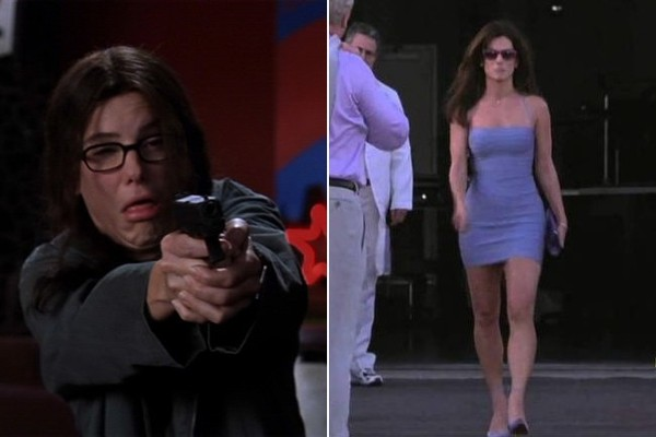 Miss Congeniality 2000 The Before Afters Of Hollywood S Best Makeover Movies Zimbio