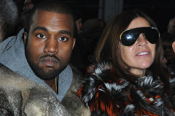 Love it or Loathe it: Carine and Kanye's Front Row Fur at Paris Givenchy Show