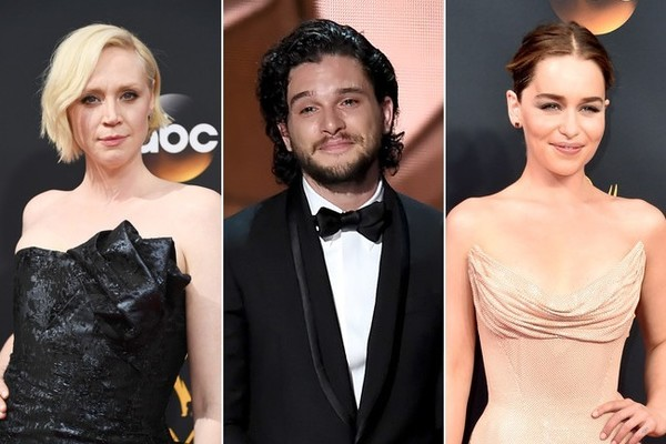'Game of Thrones' Stars at the 2016 Emmy Awards