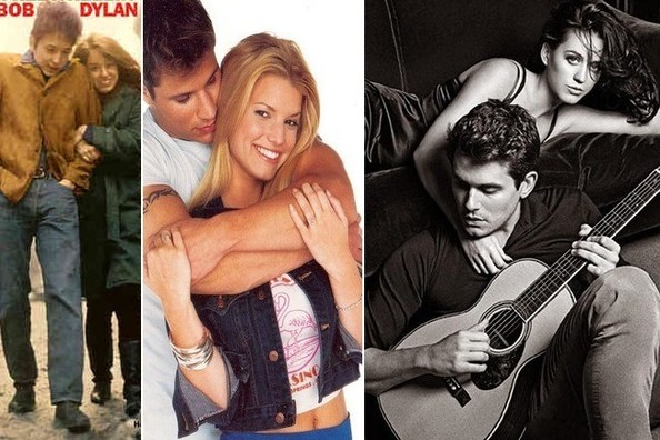 Real-Life Couples on Album and Single Covers