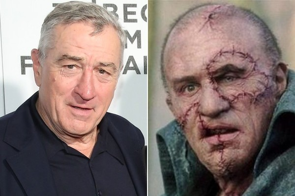 Robert De Niro a 'Mary Shelley's Frankenstein'