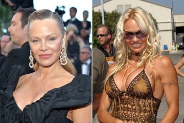 Pamela Anderson Debuts Classy Transformation at 2017 Cannes