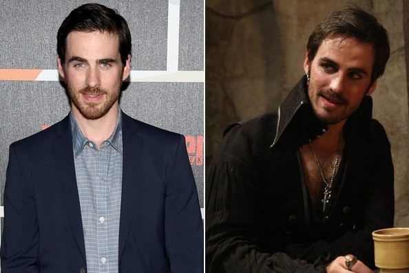 Colin O Donoghue Or Captain Hook In Once Upon A Time Hotter In Costume Or In Real Life Zimbio