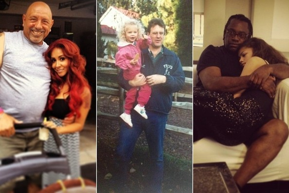 Stars Share Snaps of the Dads in Their Lives on Father's Day