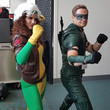Rogue and Green Arrow