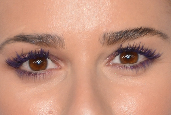 Love it or Loathe it: Lea Michele's Bright Purple Mascara