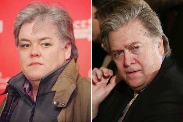 Rosie O'Donnell Continues To Troll Trump With Bannon-Hybrid Twitter Pic