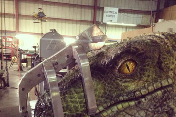 This Is Probably Our First Picture of a 'Jurassic World' Dinosaur