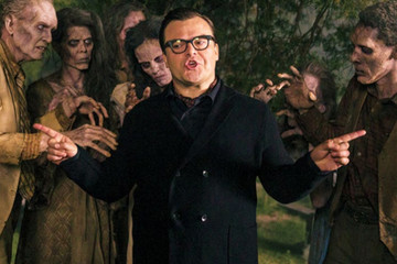 First Look: Jack Black as R.L. Stine in 'Goosebumps'