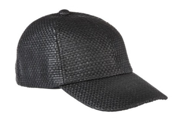 StyleBistro STUFF: The Woven Baseball Cap You'll Wear Every Day