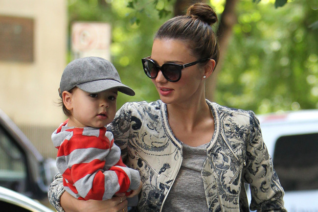 THIS Is Miranda Kerr's Mom-on-the-Go Style