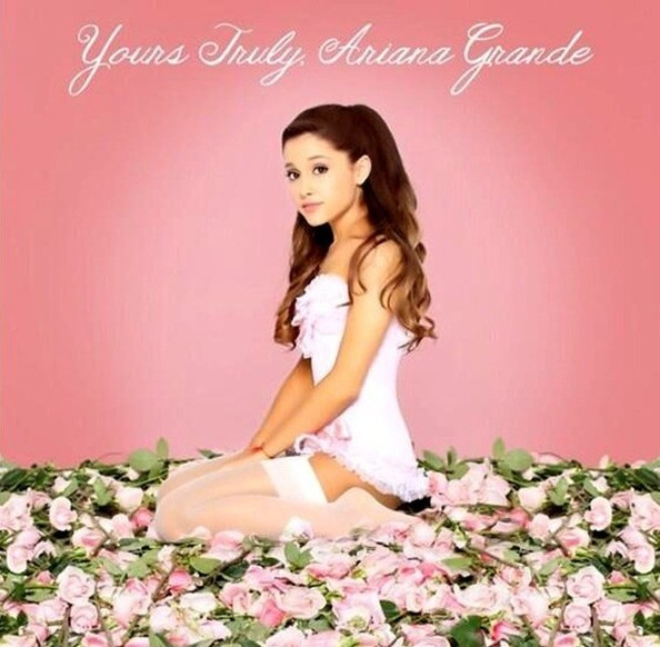 'Yours Truly,' Ariana Grande - Super Creepy Album Covers ...