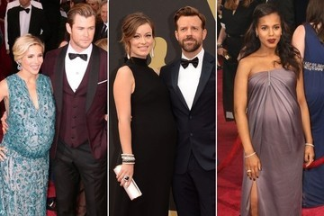 The Pregnant Ladies Stole the Show on the Oscar Red Carpet