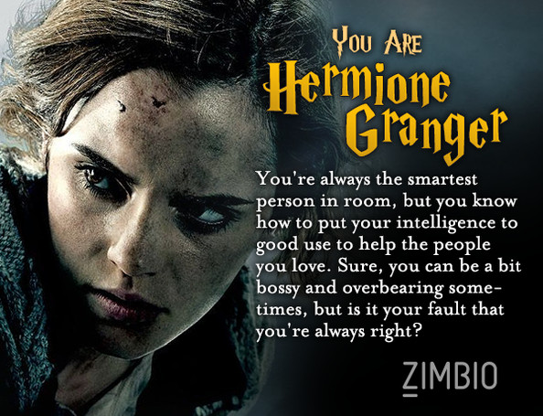 Which 'Harry Potter' Character Are You? - Quiz - Zimbio