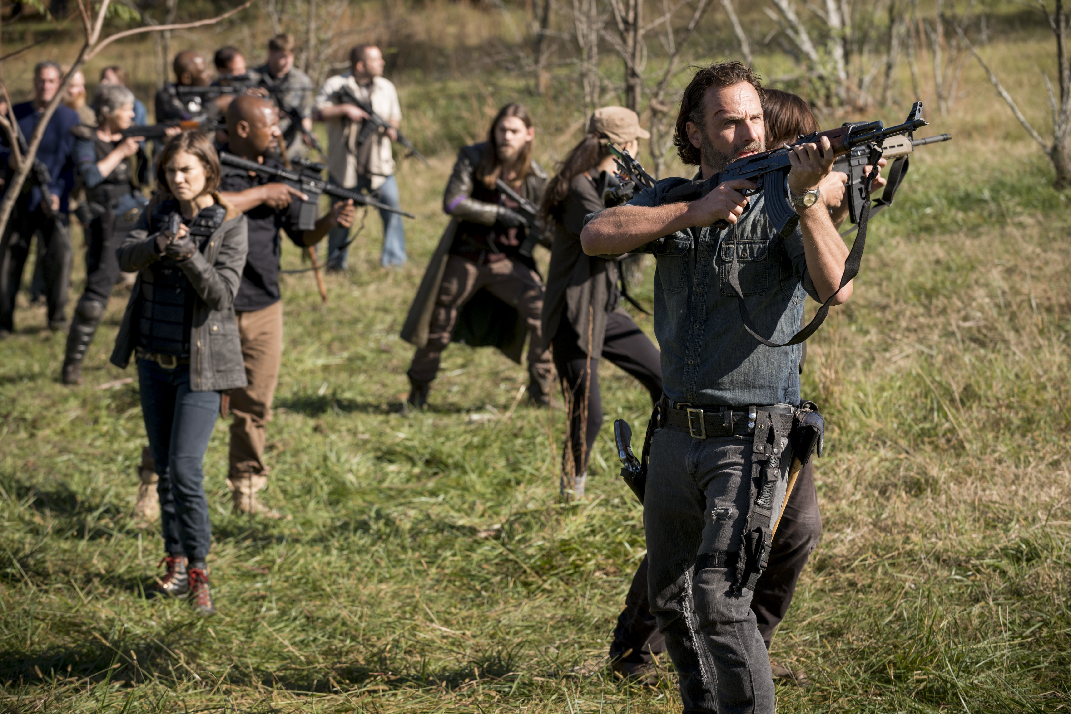The Walking Dead's Andrew Lincoln On Why Rick Spared [Spoiler]