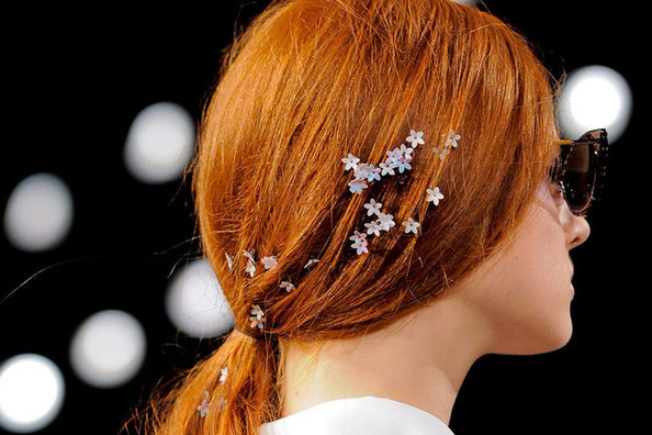 The Cutest Way to Makeover Your Ponytail - Inspo From Honor's Spring 2014 Show