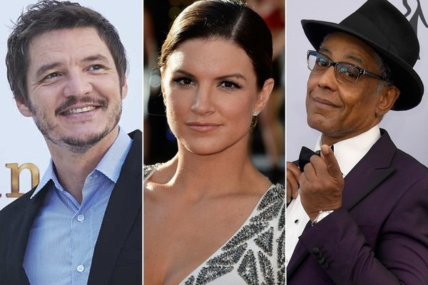 Pedro Pascal, Gina Carano, and Giancarlo Esposito lead an all-star Mandalorian cast. (Getty)
