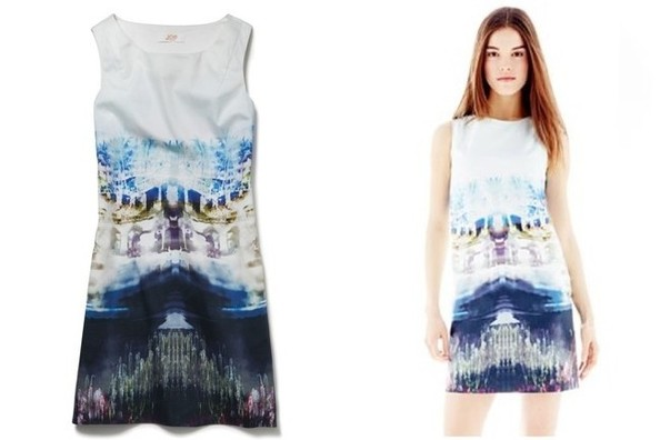 StyleBistro STUFF: Joe Fresh's Photo Print Shift Dress