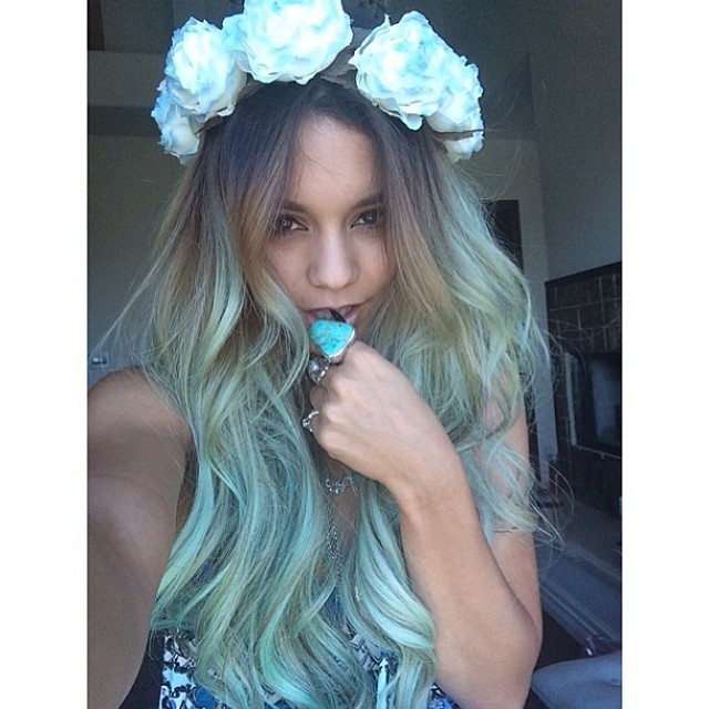 Now Trending in the Hair World: Mermaid Blue Hair