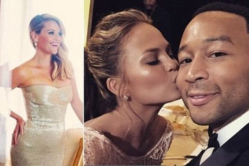 The Best Social Media Pics from the 2015 Golden Globes