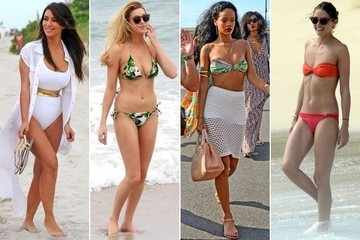 The Top 50 Chicest Celebrity Swimsuits