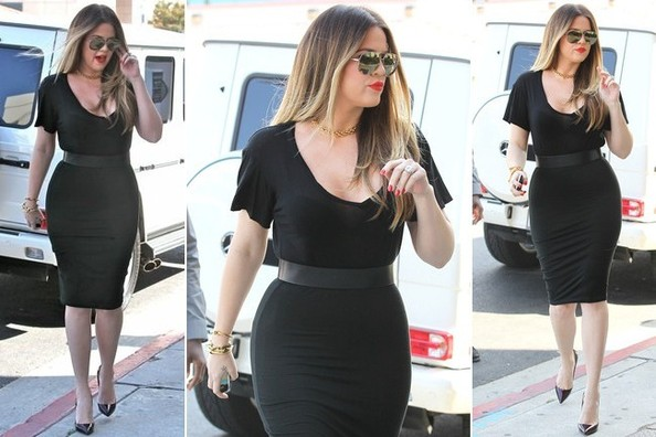 In Which Khloe Kardashian Teaches Us How to Stylishly Deal With Drama