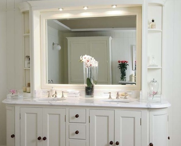 Shabby chic modern bathroom ideas zimbio for Modern chic bathroom designs