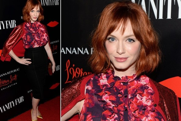 Christina Hendricks Knows it's Time to Bring Out The Shine