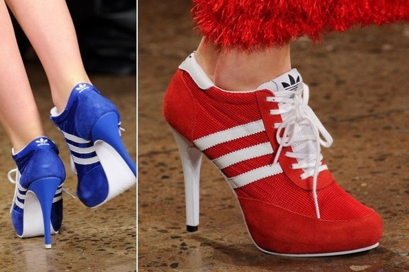 Would You Wear High Heel Sneakers? Vote! Trends to Try