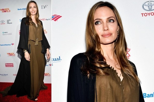 Angelina Jolie Returns the Red Carpet - Hurray or Womp Womp?