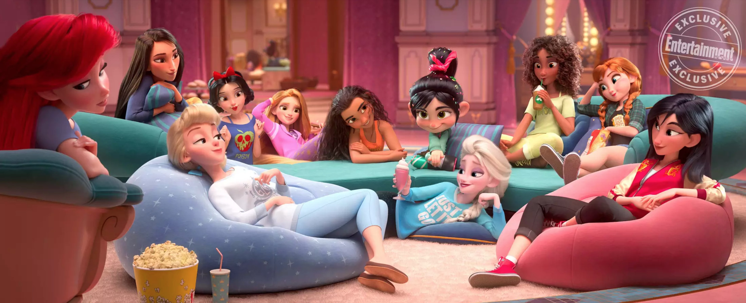 A Deep Analysis Of All The Disney Princess Outfits In 'Ralph Breaks The Internet'