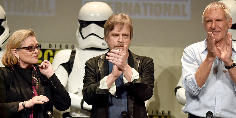 Luke Skywalker's Sister-Kissing Trauma, a Surprise Concert and More 'Star Wars' Comic-Con Highlights