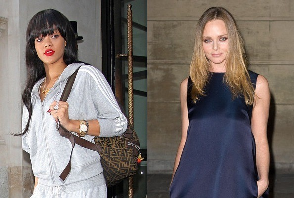 Rumor: Rihanna & Stella McCartney are Designing a Clothing Line Together