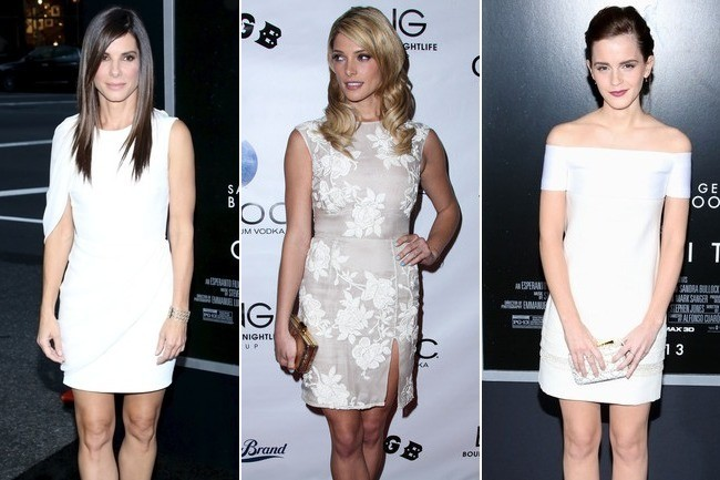 1 Night, 3 Little White Dresses—Vote for Your Favorite!