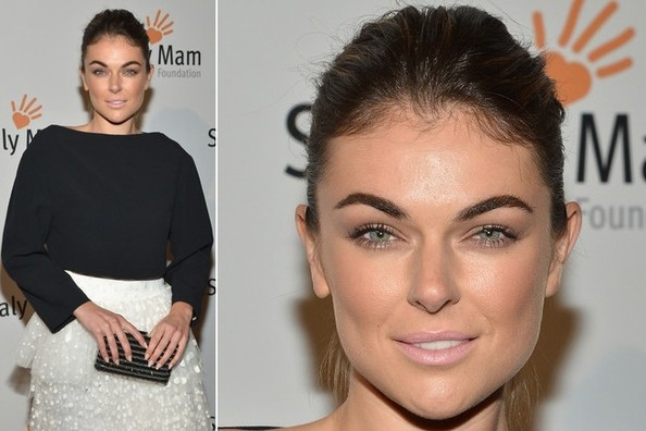Serinda Swan Schools Us on the Importance of Perfect Eyebrows