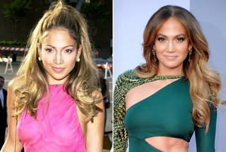 Then and Now - Jennifer Lopez