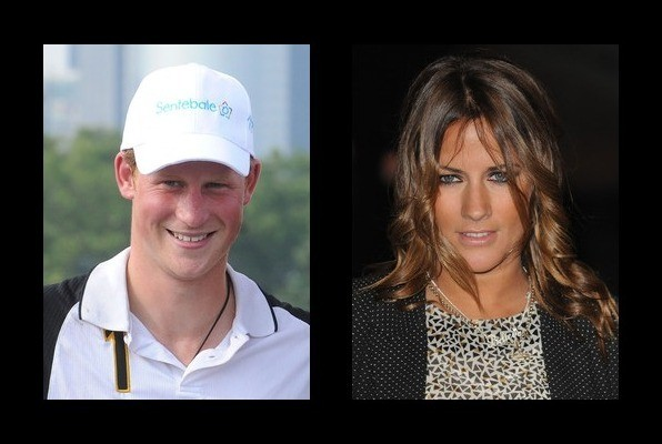 Prince Harry Had A Fling With Caroline Flack Prince Harry Dating History Zimbio