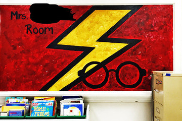 This Harry Potter Inspired Classroom Is the Stuff Dreams Are Made Of