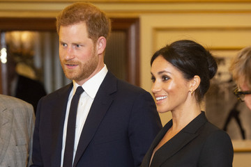 Prince Harry Stole The Show Last Night While Attending A 'Hamilton' Performance With Meghan Markle
