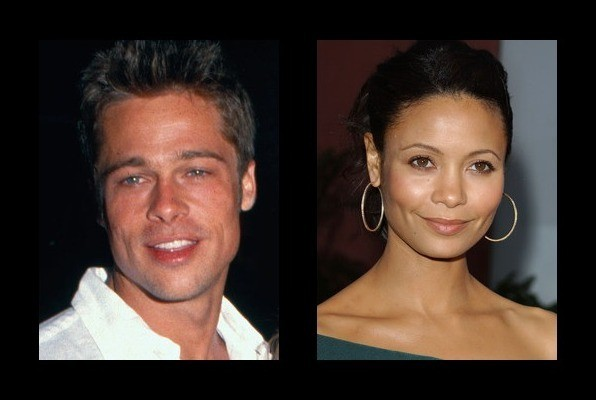 Brad Pitt dated Thandie Newton - Brad Pitt Girlfriend - Zimbio