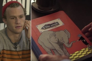 The Diary That Heath Ledger Kept in Preparation for His Role as the Joker Has Just Reemerged