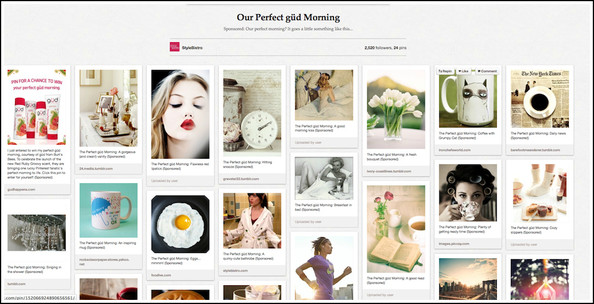 Show Us What Your Perfect Morning Looks Like - on Pinterest - and Enter This Amazing Contest