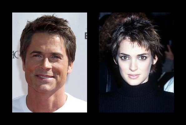 Rob Lowe was rumored to be with Winona Ryder