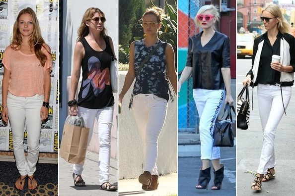 Trend to Try: White Skinny Jeans - Trends to Try - Livingly