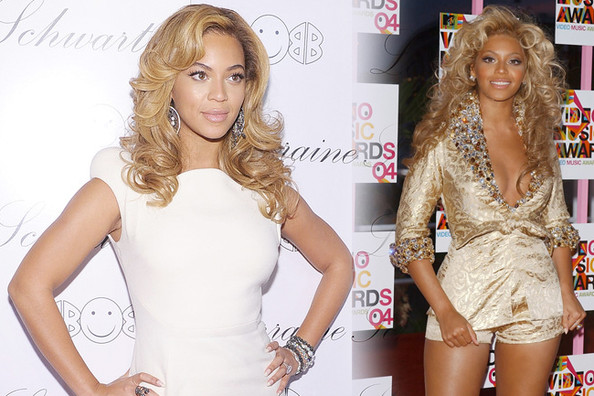 Fashion Flashback - Beyonce Then & Now