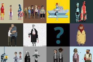 Guess the Movie from the 8-Bit GIF