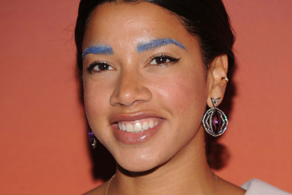 Love It or Loathe It: Hannah Bronfman's Blue Eyebrows